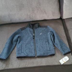 Boys nautica sweater jacket 4808